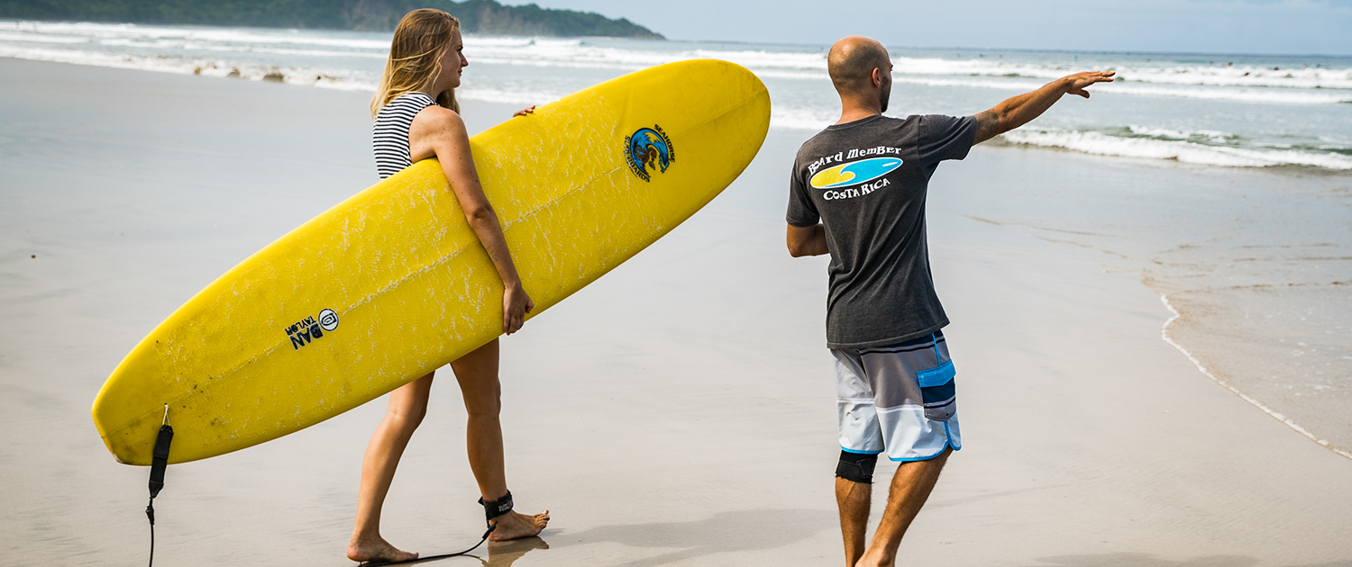 Private Surf Lessons Costa rica