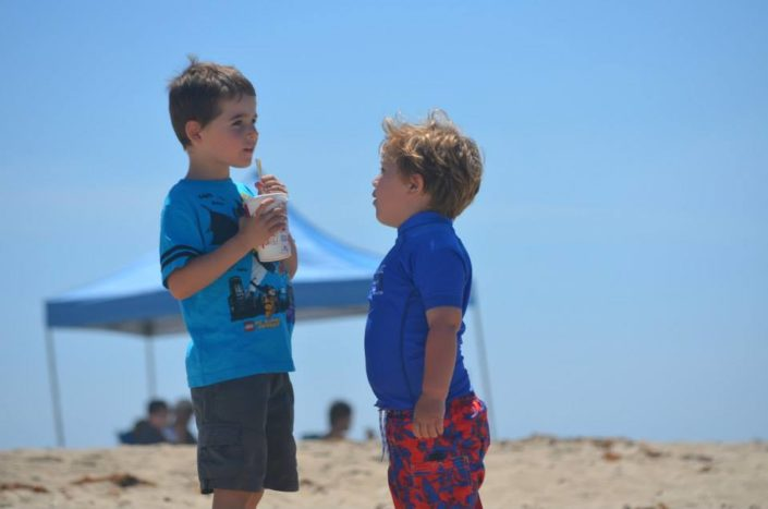 Snack Time Beach Adventure