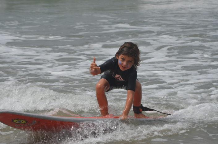 Surfing At Beach Adventure