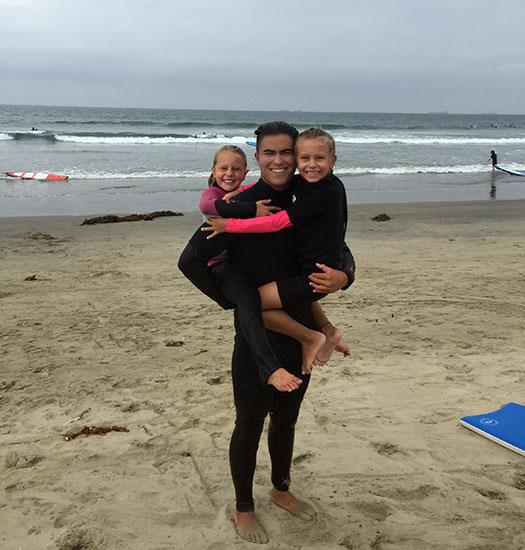 Hugs at Beach Adventure