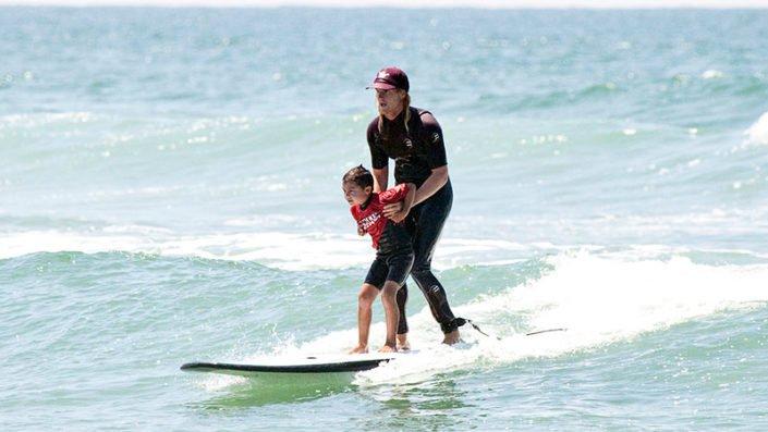 Beach Adventure Tandem Surfing