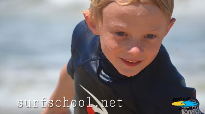 Grom At Summer Surf Camp