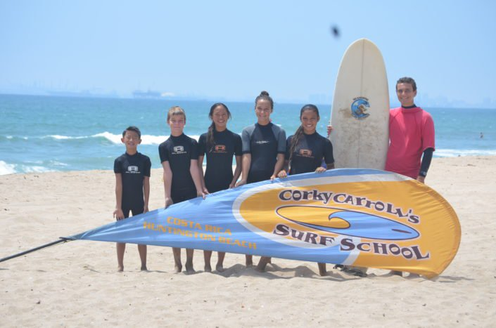 Surf Group Photo HB