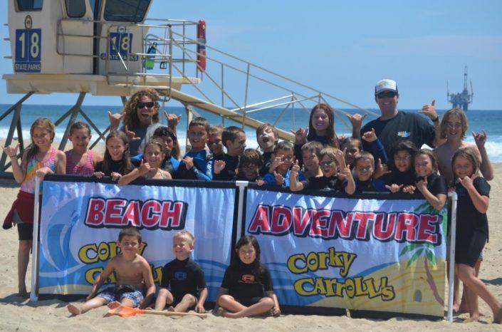 Group Photo Beach Adventure