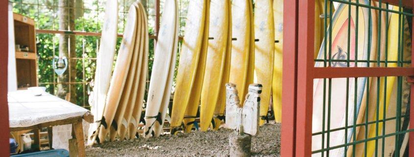Board cage