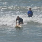 Huntington Beach Girls Surfing Lesson