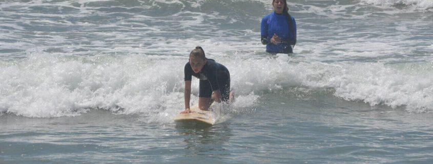 Huntington Beach Girls Surfing Lesson