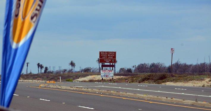 Entrance to Bolsa Chica State Beach
