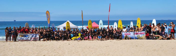 Group Photo Surf Camp