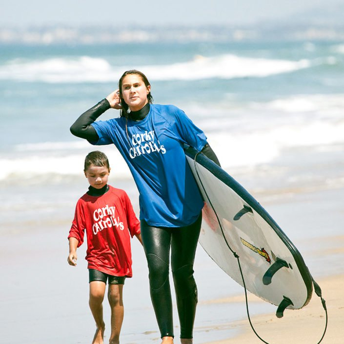 Surfing Lessons at Beach Adventure