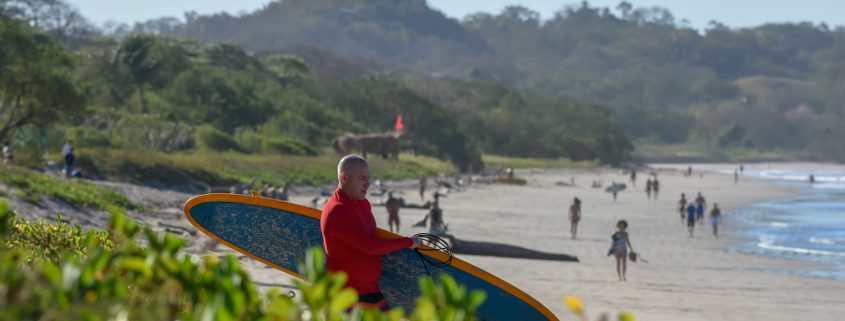 Surf Resort Surfers at Playa Guiones