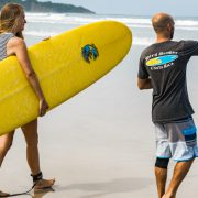 Prepare for Surfing Lesson