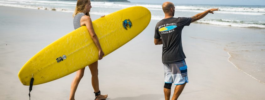 Prepare for Surfing Lesson