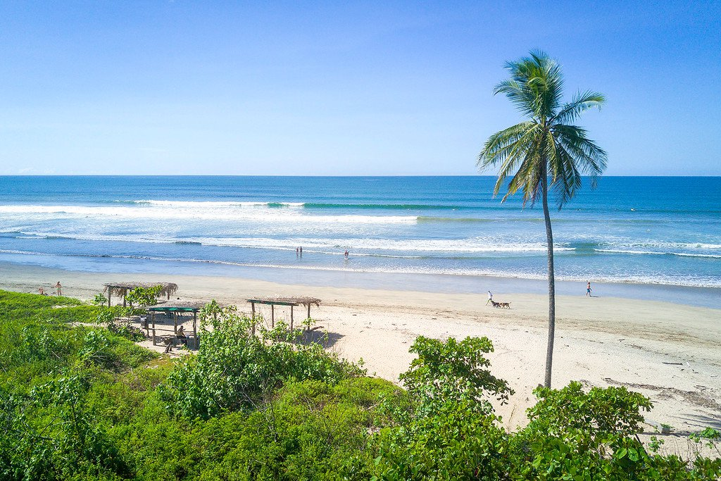Playa Guiones Corky Carroll's Surf Resort Beach Break
