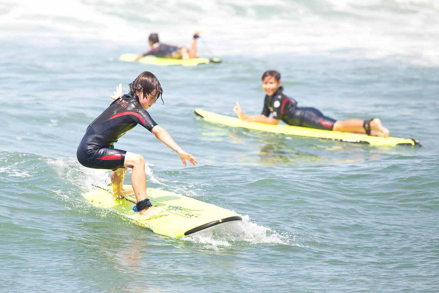 Learning to Surf at Huntington Beach Surf Camp