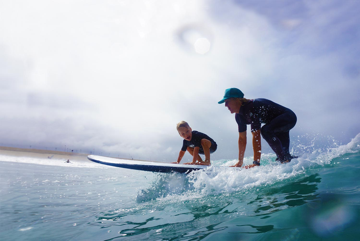 Learning to Surf at Corky Carroll's Beach Adventure Surf Camp
