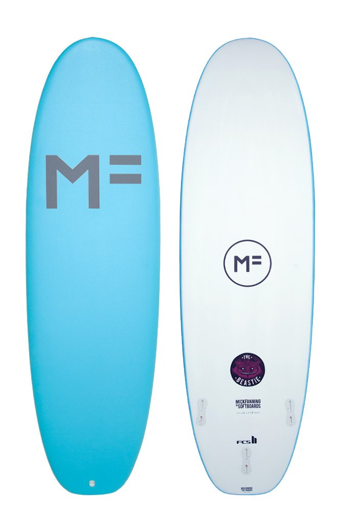 Mick Fanning Soft Top Surfboard Rental Beastie