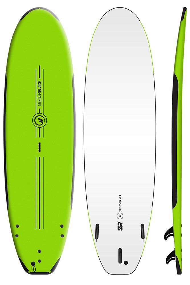 Storm Blade Soft Top SRS Surfboard