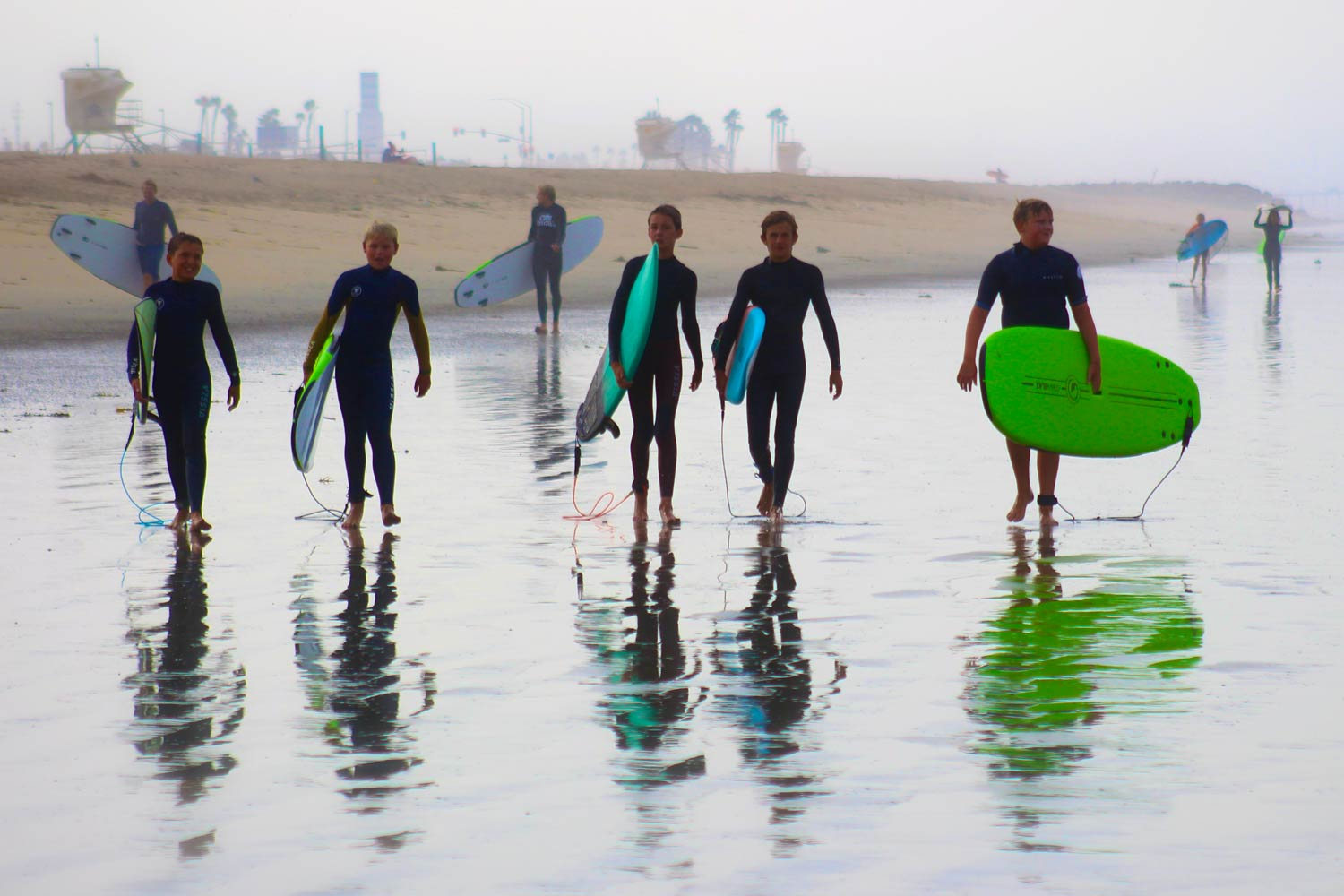 Fall Surf Camp Huntington Beach