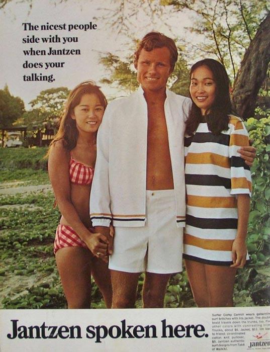 Corky Carroll Jantzen Ad 1968