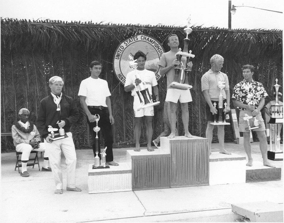 United States Surfing Championships Huntington Beach 1967 Award Ceremony