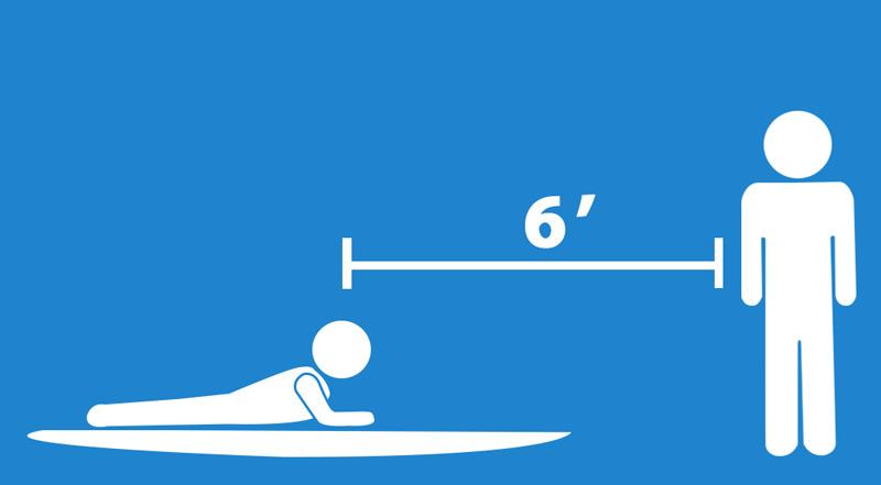 Coronavirus Surf Lesson Distancing