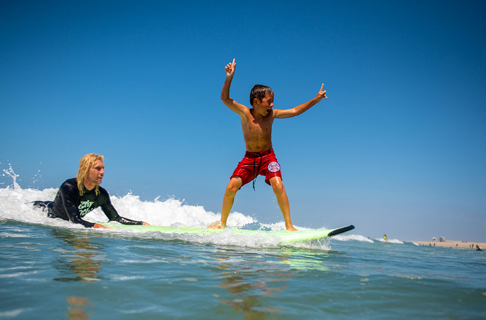 Surf Camp Lesson
