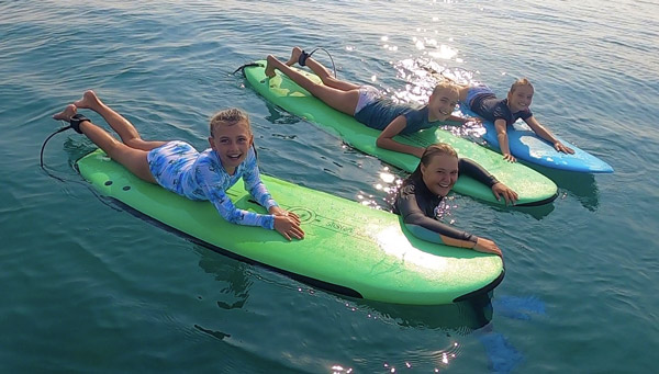 Surf Class Supervised Fall