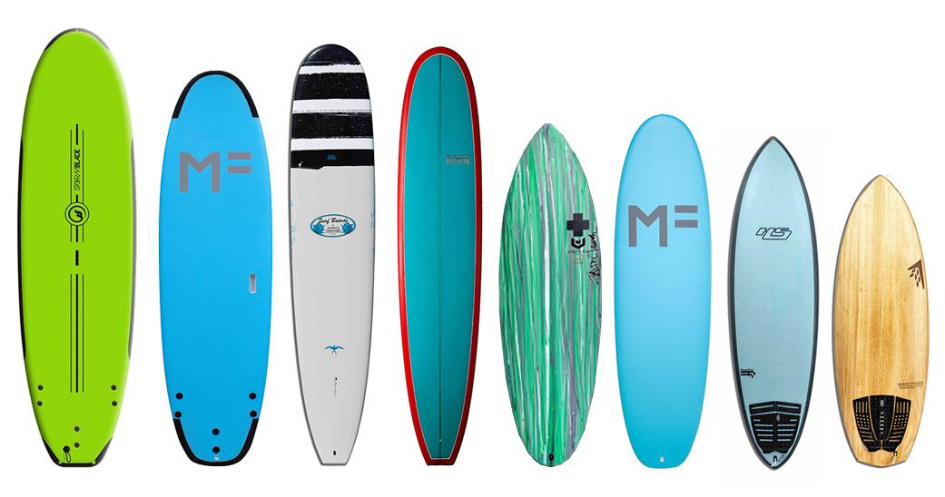 Surfboard Rentals Quiver