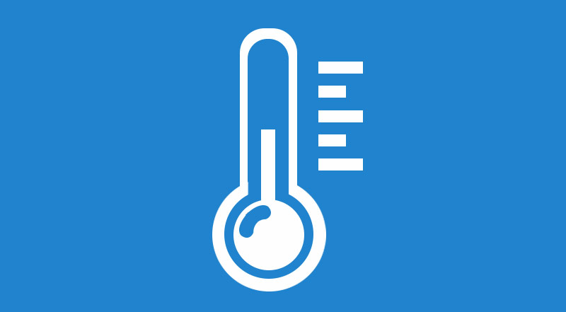 Thermometer Temperature Check Icon
