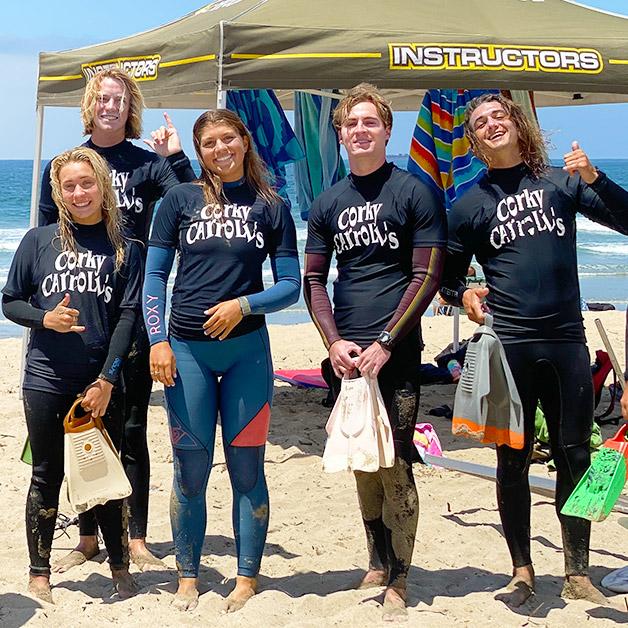 Surf Instructor Jobs at Corky Carroll's Surf School